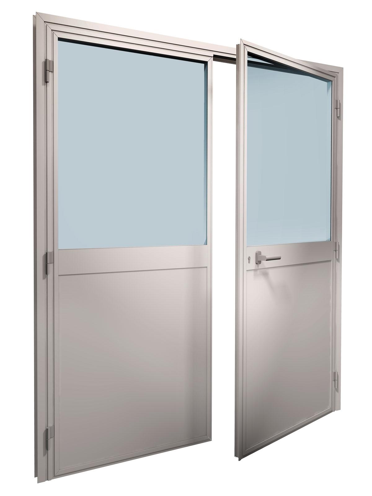 Ein- oder zweiflügelige tragende Tür mit Band - Piva Group ...
